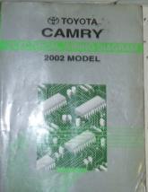 2002 toyota camry electrical wiring diagram repair manual etm ed etm - $59.35