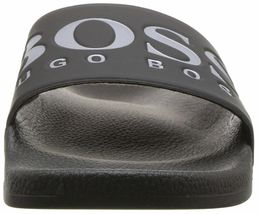Hugo Boss Men's Graphic Rubber Slip On Beach Pool Solar Slides Sandals 50388496 image 8