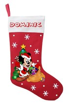 Mickey Mouse Christmas Stocking - Personalized Mickey Mouse Stocking - $29.99
