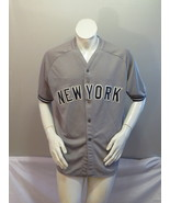 New York Yankees Jersey - Home Grey Jersey with Felt Lettering By CCN - ... - $75.00