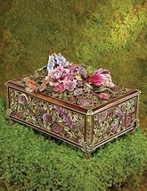 JAY STRONGWATER Genevieve Grand Floral Chest -F... - $7,677.00