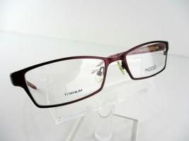 MODO TITANIUM Mod. 4010 (DRED) Dark Red 52 x 17 138 mm Eyeglass Frames - $24.70