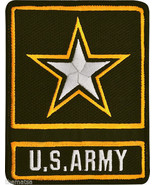 ARMY ACU STAR LOGO EMBROIDERED PATCH - $23.74