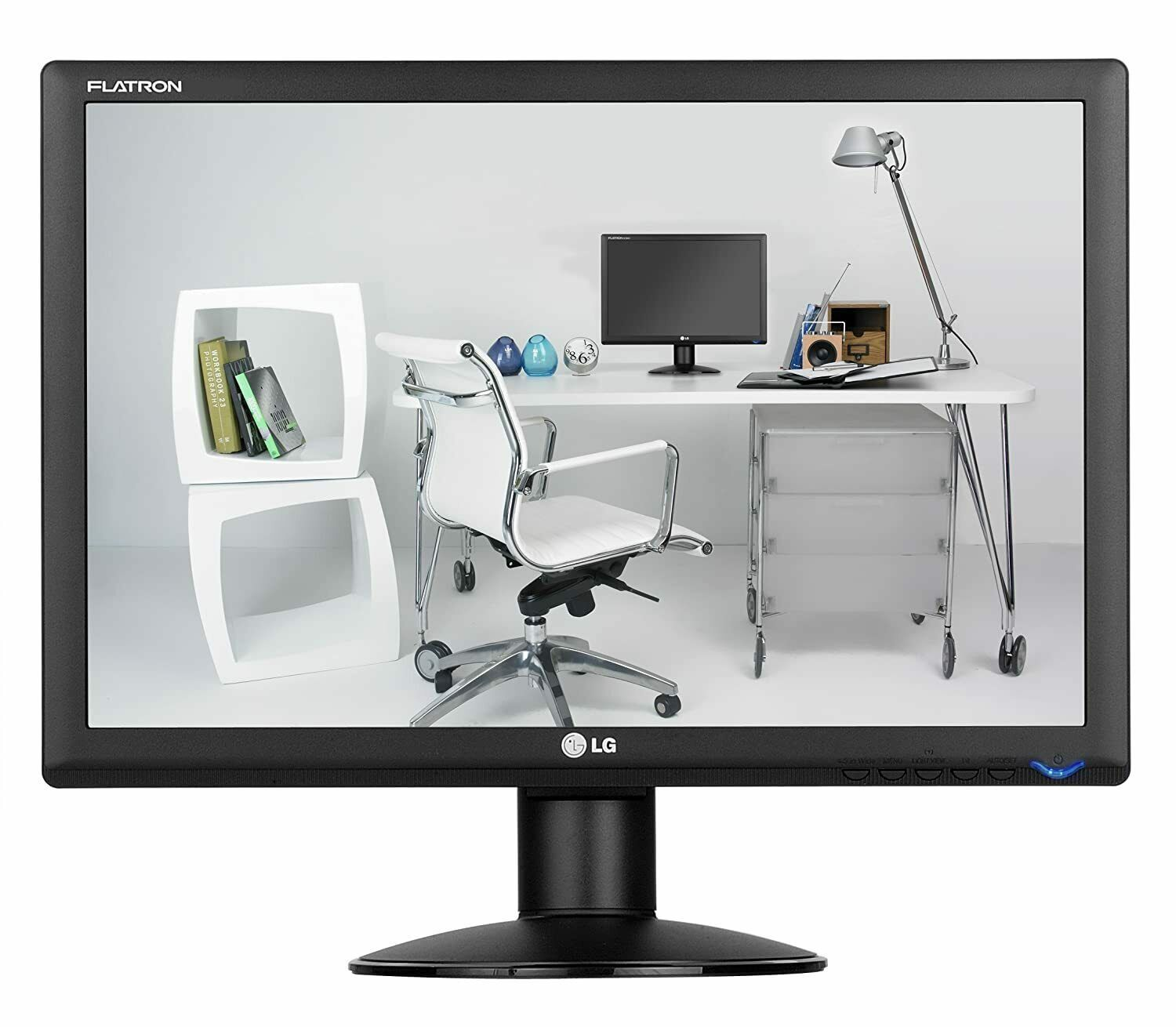 "Primary image for LG W1934S 19"" inch Widescreen 1000:1 5ms LCD Monitor, LG W1934S 19 Wide LCD"