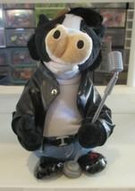 "Cuddle Barn Blue Moo Singing Animated Cow 12"" - $39.59"