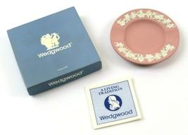 Vintage 1986 Wedgwood J9900 Ceramic 2 Slot Ashtray in Orig. Box, Pink, Read - $12.86