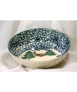 """Tienshan Cabin In The Snow Coup 9"""" Round Vegetable Serving Bowl - $6.92"""