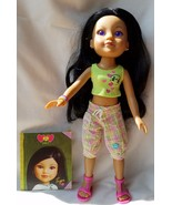 "Hearts for Hearts Girls Dolls Tipi from Laos 2010 Lavender eyes 14"" Play... - $79.19"