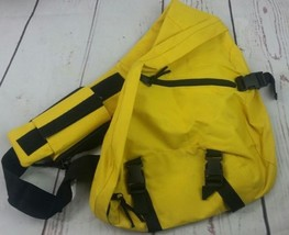 New Yellow Unisex Cross Shoulder Hiking School Sport Outdoor Cell Pouch ... - $15.43
