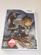 "Nintendo Wii ""Monster Hunter 3 Tri"" - Game - Import JAPAN - $2.99"
