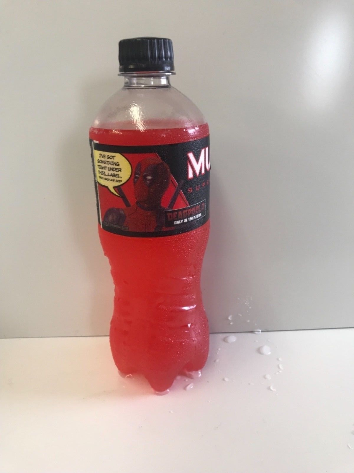 Monster Energy Drink Mutant 20oz Deadpool 2 Limited Edition Bottle.Select Option