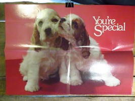 "YOU'RE SPECIAL Puppies Weekly Reader Book 16"" x 21"" POSTER Vintage #6852 - $14.84"