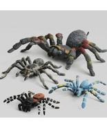 4 Pcs Set Funny Animal Spider Model Simulated Figures Educational Toys C... - $12.79+