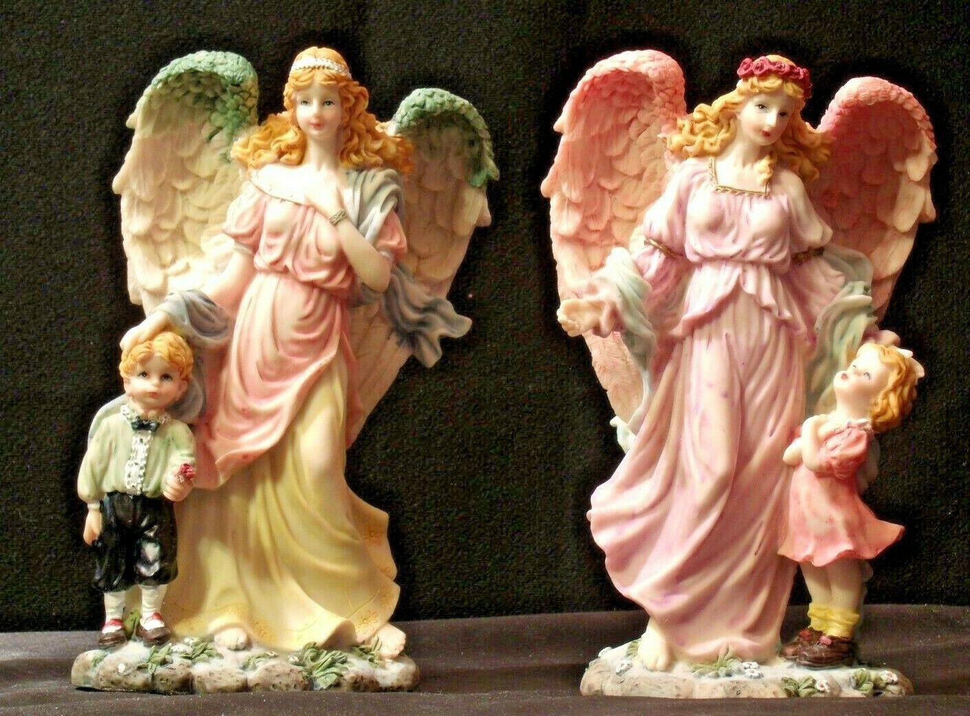 Pair of Angel Figurines in box AA-192051 Vintage