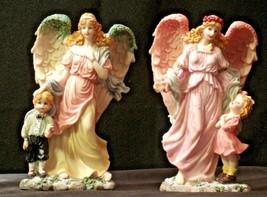 Pair of Angel Figurines in box AA-192051 Vintage image 1