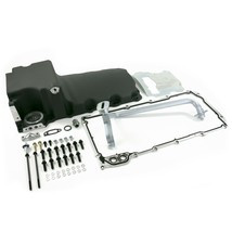 A-Team Performance LS Aluminum Rear Sump Retro-Fit Oil Pan for Chevrolet, Black
