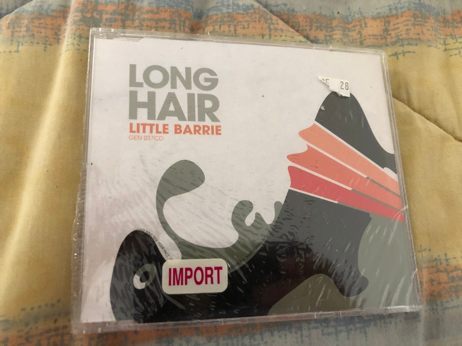 Primary image for Long Hair  Single Little Barrie CD, May-2005, New sealed 3 tracks