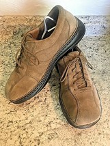 MERRELL World Sport Mud Pie (tan) Suede Leather Shoes Oxfords Lace SIZE 10 - $37.57