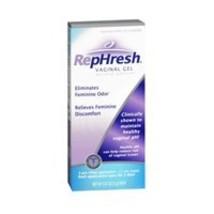 RepHresh Vaginal Gel, 0.07 Oz Each, 4 Count Pack of 2