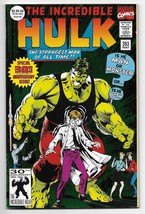 1992 The Incredible Hulk 30th Anniversary Issue #393 from Marvel Comics - $2.38
