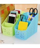 Desk Storage Basket Office Organizer (4 Grids) - $29.98