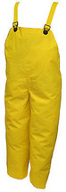 Durascrim Overalls, Yellow PVC, XL - $22.76