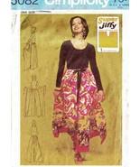 Vintage 1972 Misses' WRAP & TIE PANTSKIRT Pattern 5082-m One Size - $10.00