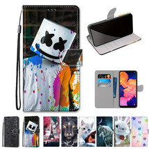 For Samsung Galaxy A10 A10S A20S Case Pattern Wallet Leather Strap Stand... - $64.67
