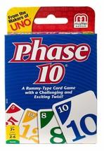MATTEL - Phase 10 Card Game Free Worldwide Shipping - $13.99