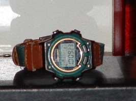Pre-Owned  Armitron 45/6825 Brown & Green Digital Watch - $7.43