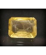 Yellow Sapphire - 8.62 Carats - Ceylonese - Unheated / Untreated - Lab C... - $2,326.50