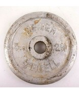 """Weider Barbell 5 Pound Weight 2.25KG 1"""" Hole  - $16.80"""