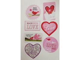 Love and Valentine's Day Cardstock Ephemera, 58 Pieces image 2