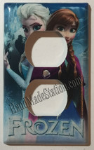 Frozen Elsa Anna Light Switch Power Duplex Outlet wall Cover Plate Home decor image 2