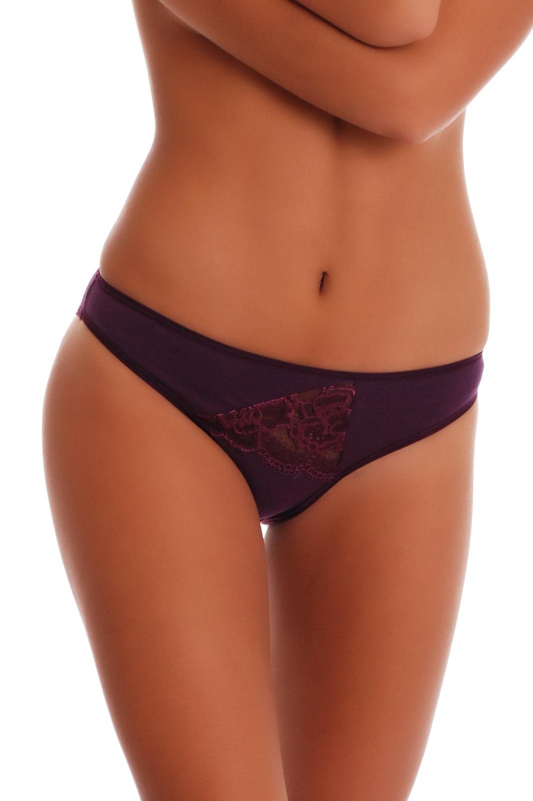 Cotton High-cut Briefs Panties with Lace M L XL 2XL 3XL Tiara Galiano 1314 EU