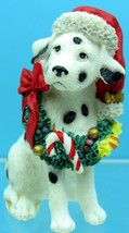 DALMATIAN With WREATH & HAT LOVELY WESTLAND STATUE DOG FIGURINE ALL NEW ... - $12.86