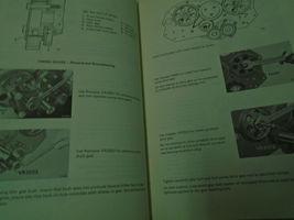 1971 GM 381 & 466 cu In Diesel Engine Clutch Service Repair Shop Training Manual image 4