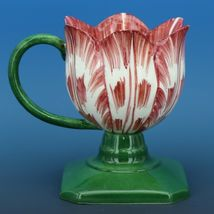 Vintage Italian Porcelain Solid Tulip Cup image 4