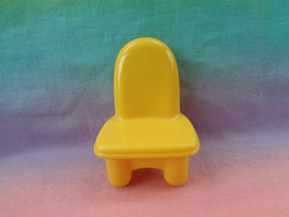 Mattel 2005 Yellow Replacement Chair My First Dollhouse Furniture  - $2.33