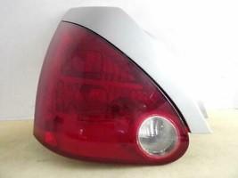 2004 2005 2006 2007 2008 Nissan Maxima Lh Tail Light W/ White Trim Oem D78L - $58.20