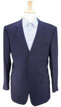 * SARROCCO * Roma Bespoke Handmade Navy Loro Piana Wool Sportcoat 42R - $105.00