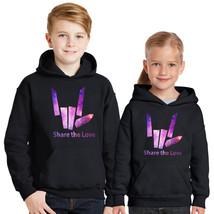 Share The Love Galaxy Kids Hoodie, Stephen Sharer Merch Hoodie - Youtube Merch - $26.98