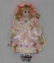 "GORGEOUS 6"" Porcelain Bisque GIRL Doll So Sweet - $24.04"