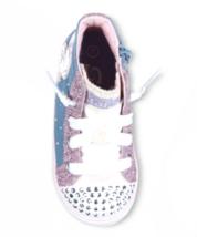 S Sport Par Skechers Bébé Filles Rose Raelynn Illuminé Montantes Shoes Baskets image 2