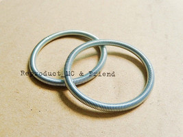 Honda C200 CA200 C201 CD90 SL350 CB72 CB77 CL72 CL77 Air Cleaner Band (2 pcs.) - $5.87