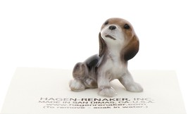 Hagen-Renaker Miniature Ceramic Dog Figurine Beagle Pup