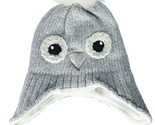 The Children's Place Girls' Toddler Critter Hat, Snow, L/XL8+YR