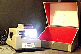 American Optical Executive 300 Slide Projector with Case AA20-2130 Antique (USA) image 2