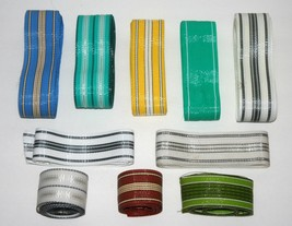 Vintage Lawn Chair Webbing Assortment Patio Chase Aluminum Porch Metal C... - $24.71