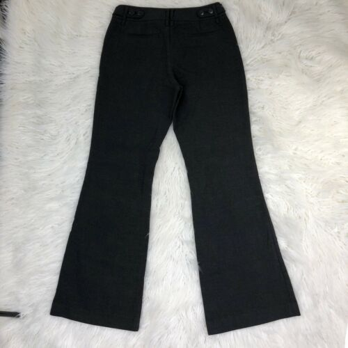 Ann Taylor Loft Women's Size 2 Dark Gray Boot Leg Dress Pants  image 2